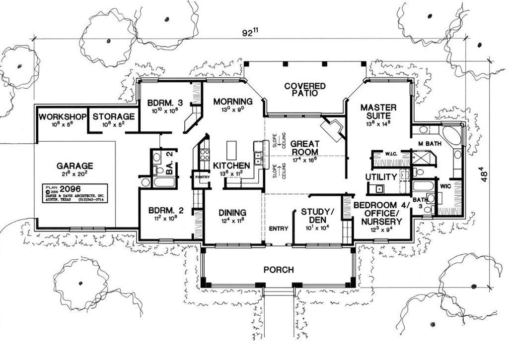 Danze davis architects home details houseplans i for Danze e davis architects