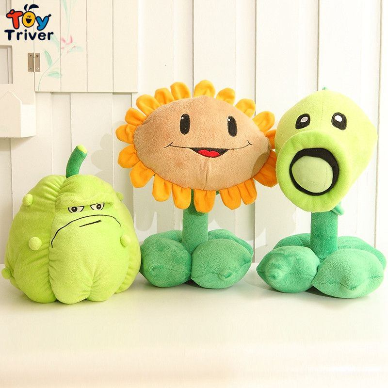 9 90 Plants Zombies Plush Toys Cute Pea Shooter Sunflower Squash Stuffed Plush Toys Soft Doll Game Baby Party To In 2020 Creative Kids Gift Plush Toy Dolls Doll Toys