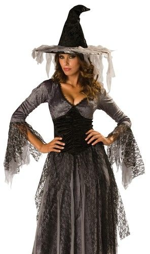 Sexy Womens Gothic Ghost Witch Halloween Costume | eBay  sc 1 st  Pinterest & Sexy Womens Gothic Ghost Witch Halloween Costume | Pinterest ...