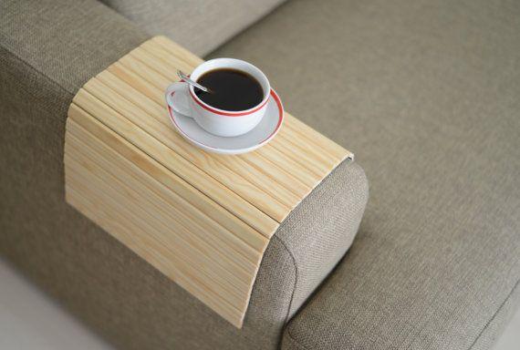 Sofa Tray Table Handmadesofa Arm Trayarmrest Traysofa Arm Etsy Sofa Handmade Sofa Arm Table Tray Table
