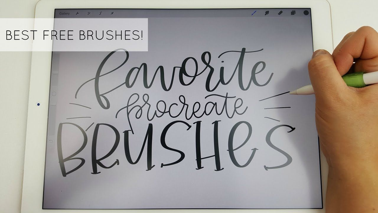 Best free brushes for procreate app my absolute favorites
