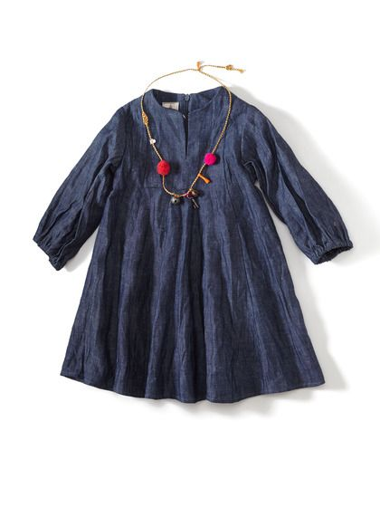 Chambray Aberdeen Dress by Dagmar Daley