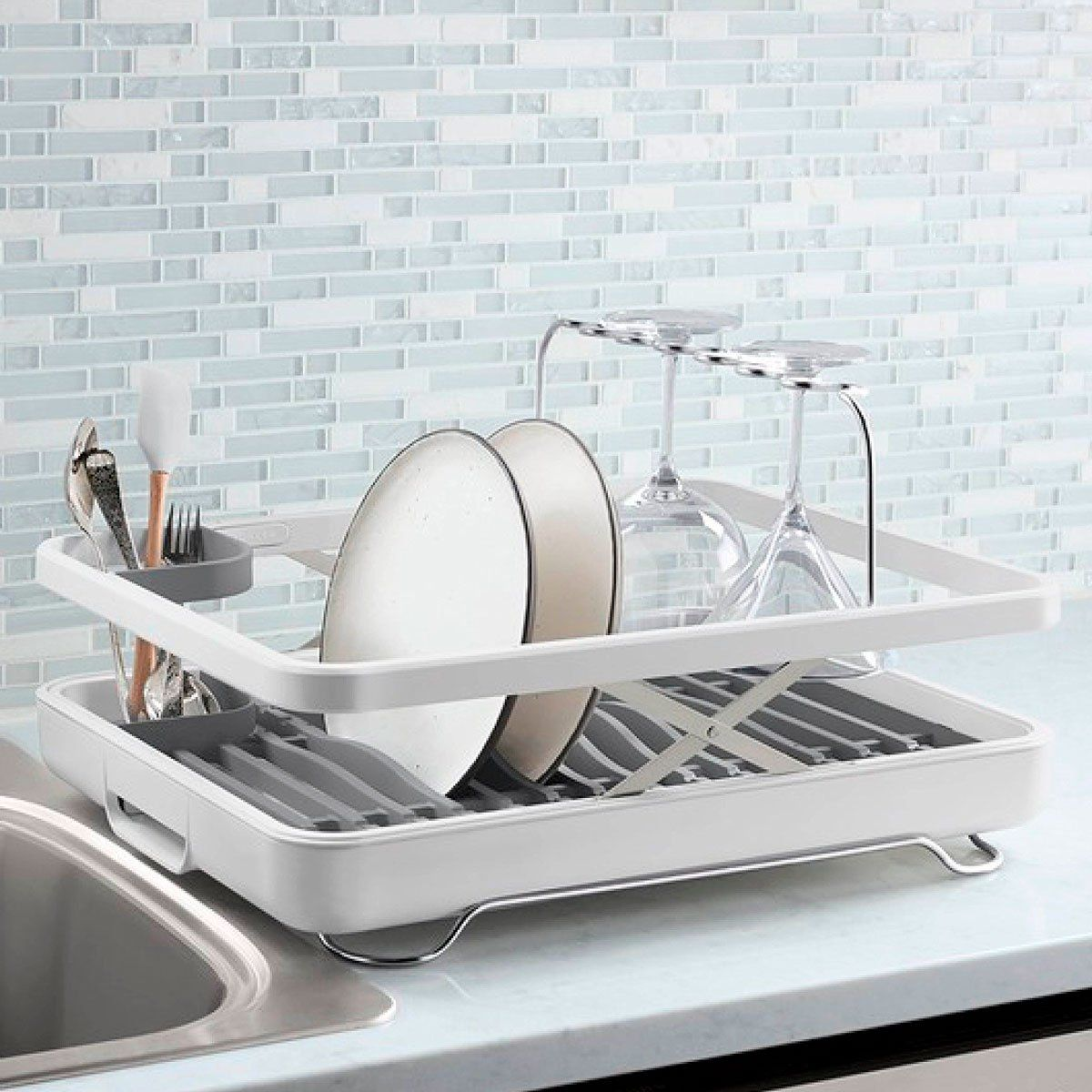No Dishwasher These Are Our 10 Favorite Dish Drying Racks Dish Rack Drying Drying Rack Kitchen Clever Kitchen Storage