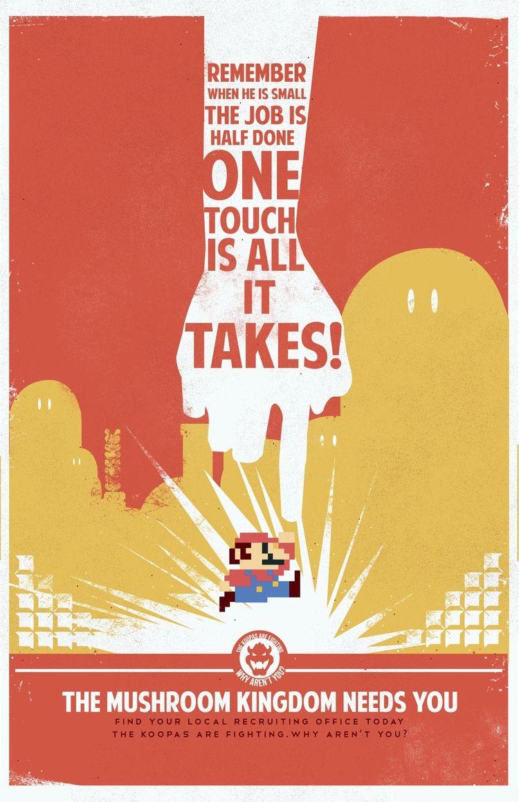 Mario WW2 Propaganda