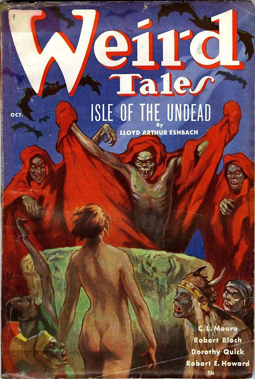 Weird Tales 'Isle of the Undead' (1936)