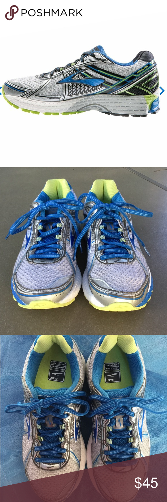 a607de6777e Brooks ADRENALINE GTS 15 Women s Running Shoes 7 Brooks ADRENALINE GTS 15  Women s Running Shoes Size 7. Blue