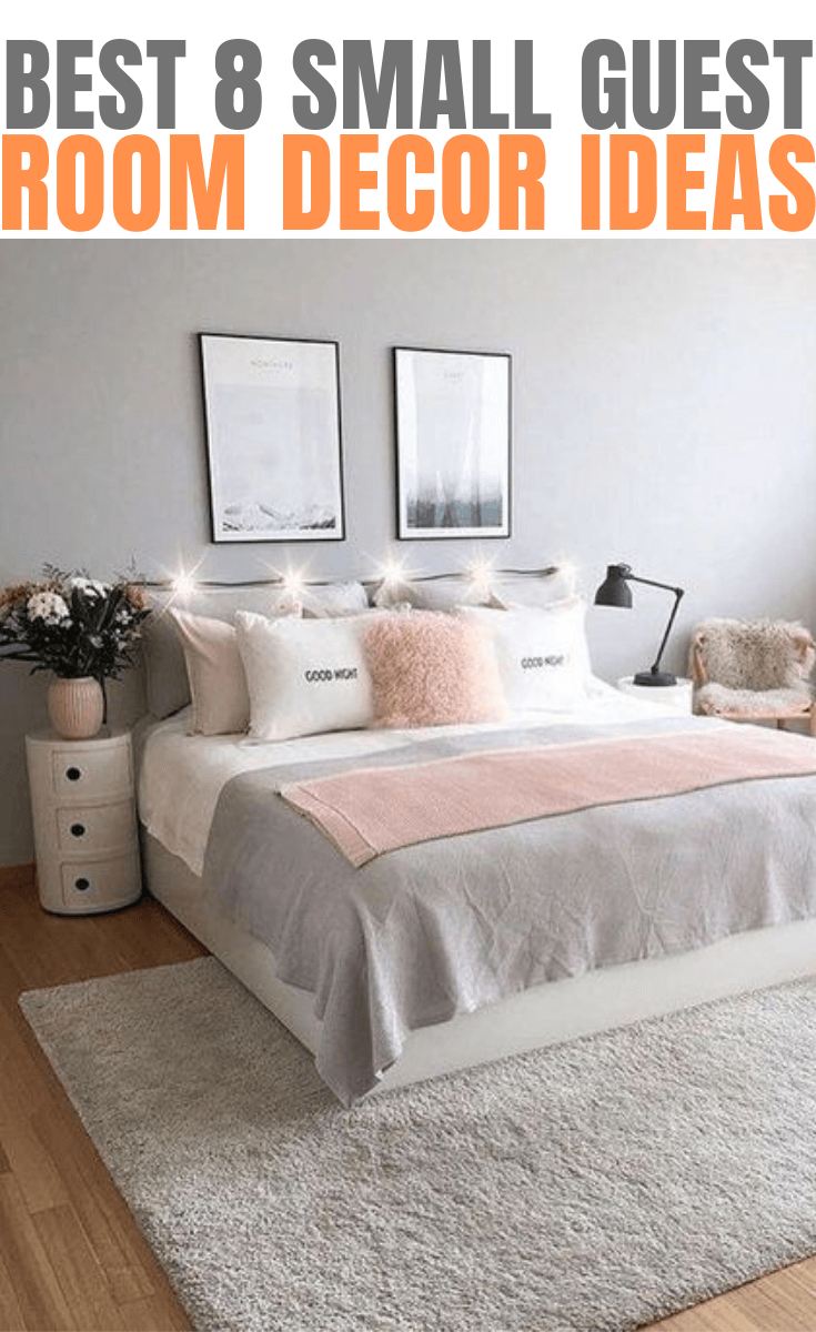 Best 8 Small Guest Room Decor Ideas With Images Small Guest Rooms Guest Room Decor Guest Bedroom Decor