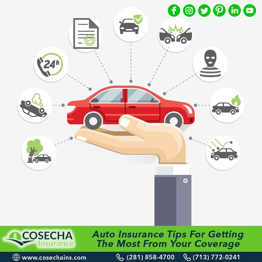 Auto insurance tips for getting the most from your