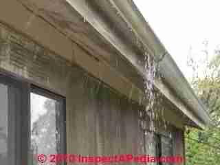Gutter And Downspout Details C Daniel Friedman Gutter Maintenance Gutters Downspout