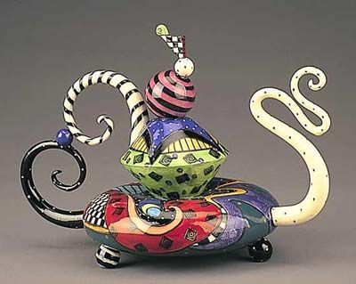 A favorite of my mom and step dad's teapots!