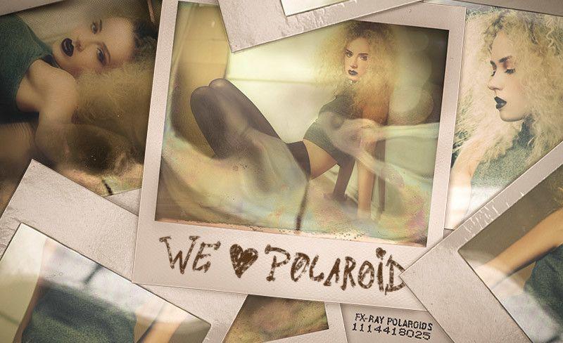 Polaroid Template FX-Ray Photoshop Pinterest Polaroid and - polaroid template