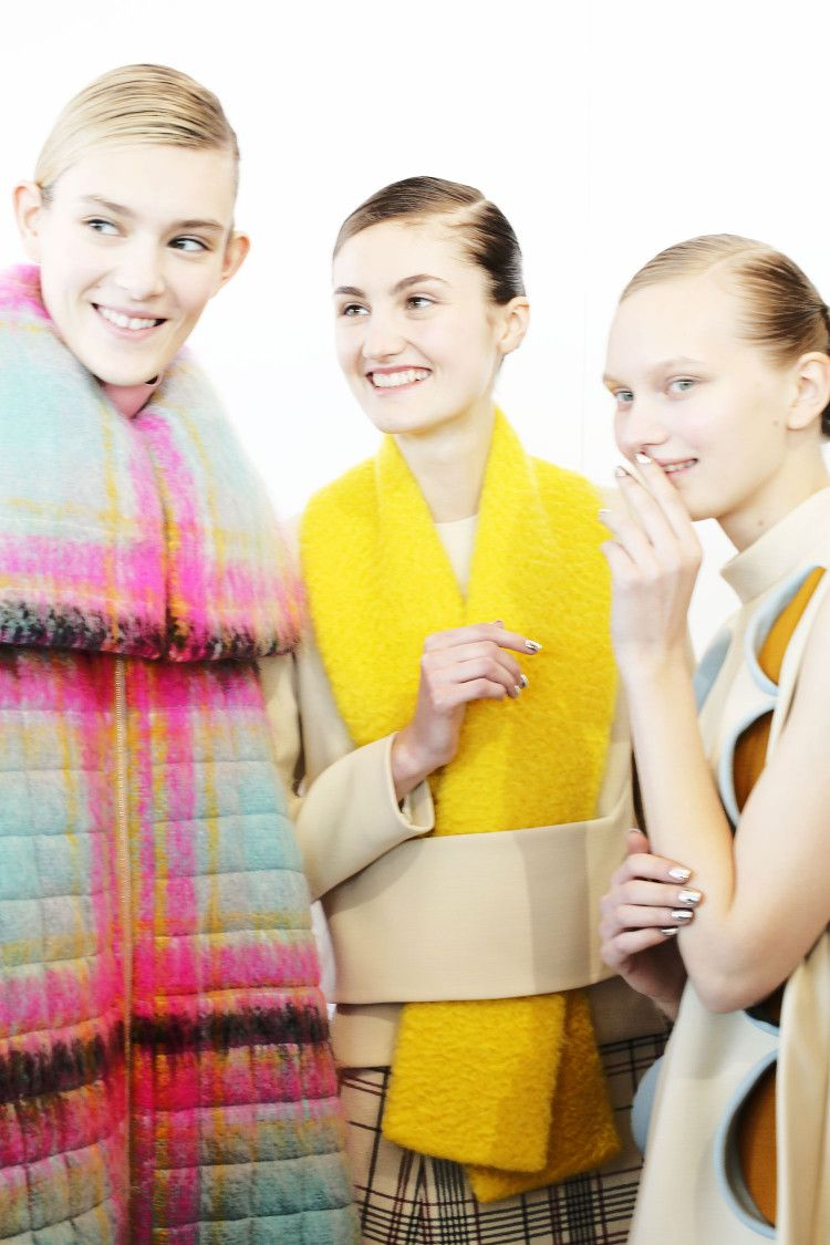 Lyrical Abstractions { Abound At Delpozo }