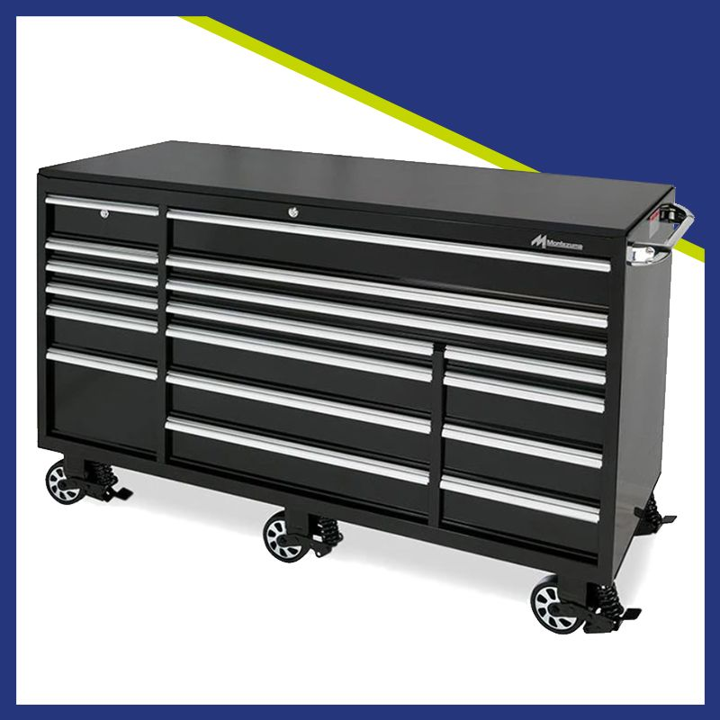 The Montezuma 72 X 30 In Tool Cabinet Features The Exclusive