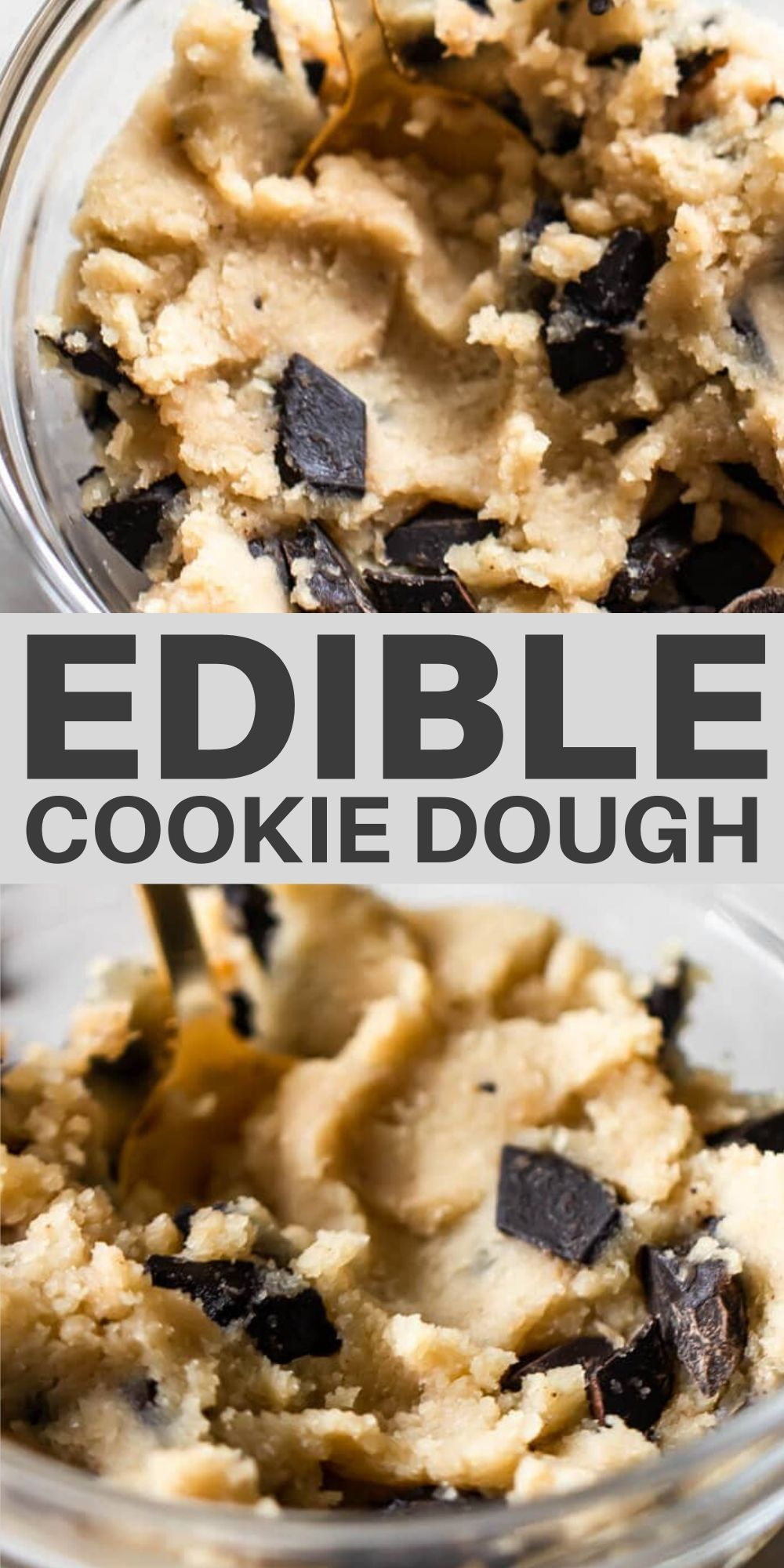 Edible Cookie Dough Recipe The Best Real Vibrant Recipe Edible Cookie Dough Edible Cookie Dough Recipe Cookie Dough