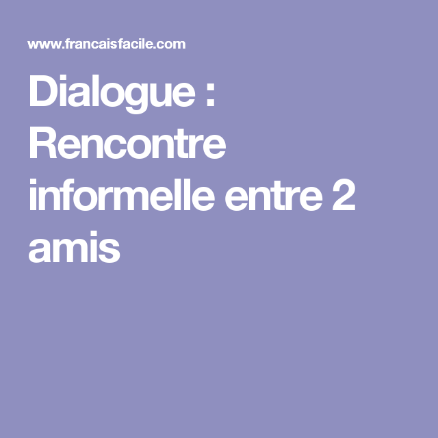 Association Rencontre et Dialogue