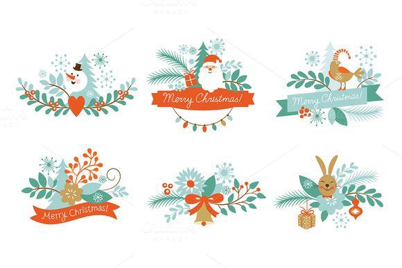 Christmas Clip Art By Lenlis On Creative Market