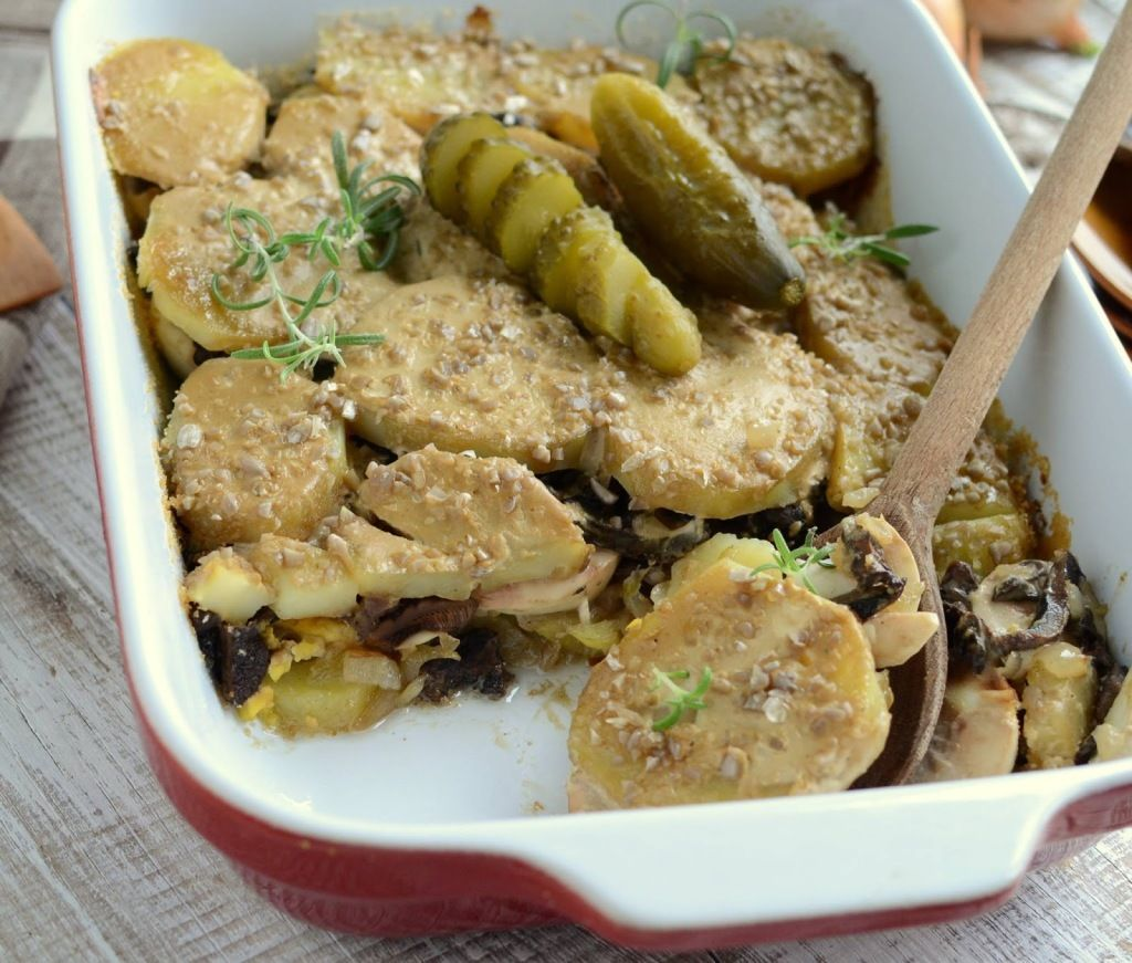 Staropolska Zapiekanka Food Stuffed Mushrooms Beef