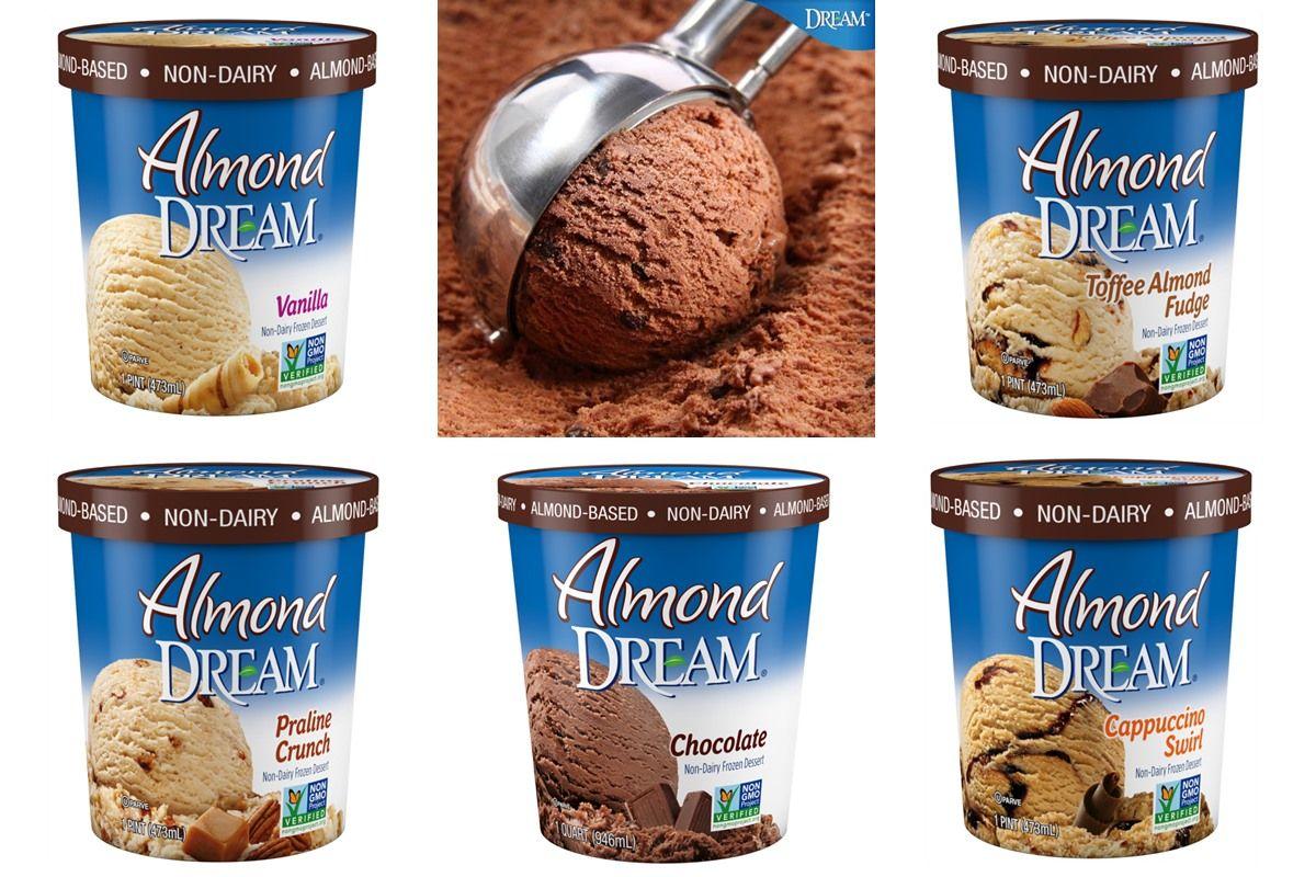 Almond dream ice cream review information dairyfree