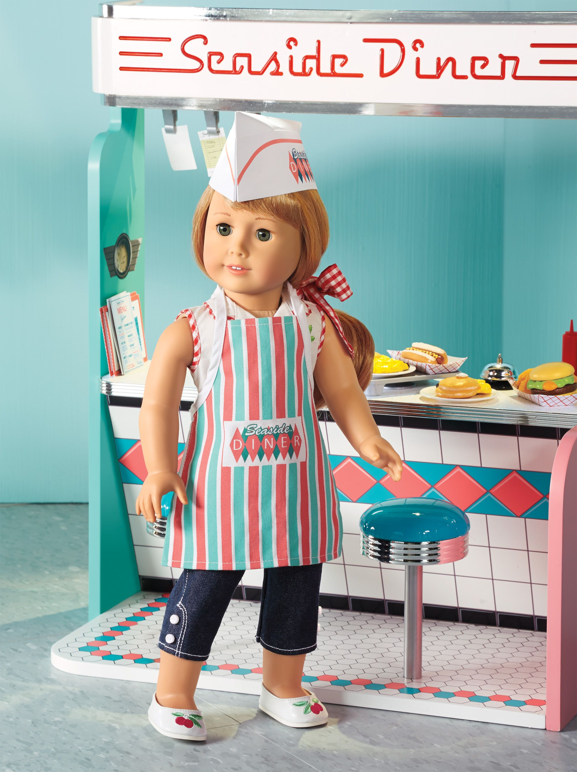 maryellen 39 s diner set archive maryellen american girl new american girl doll dolls. Black Bedroom Furniture Sets. Home Design Ideas