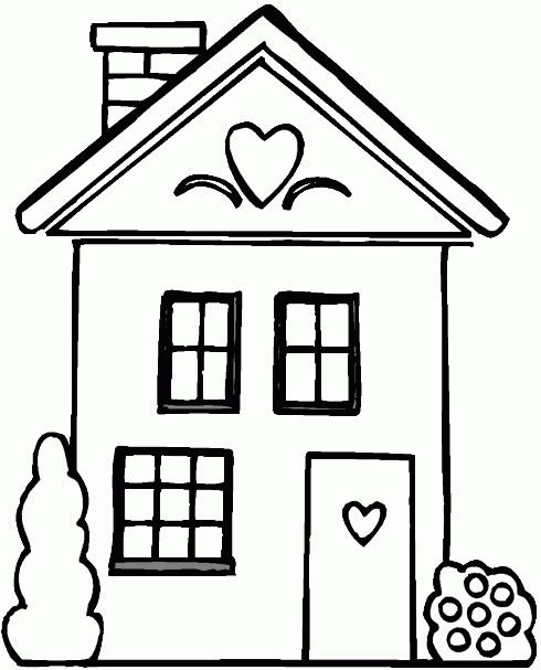 Houses - 999 Coloring Pages | Baby Quilts | Pinterest | House ...