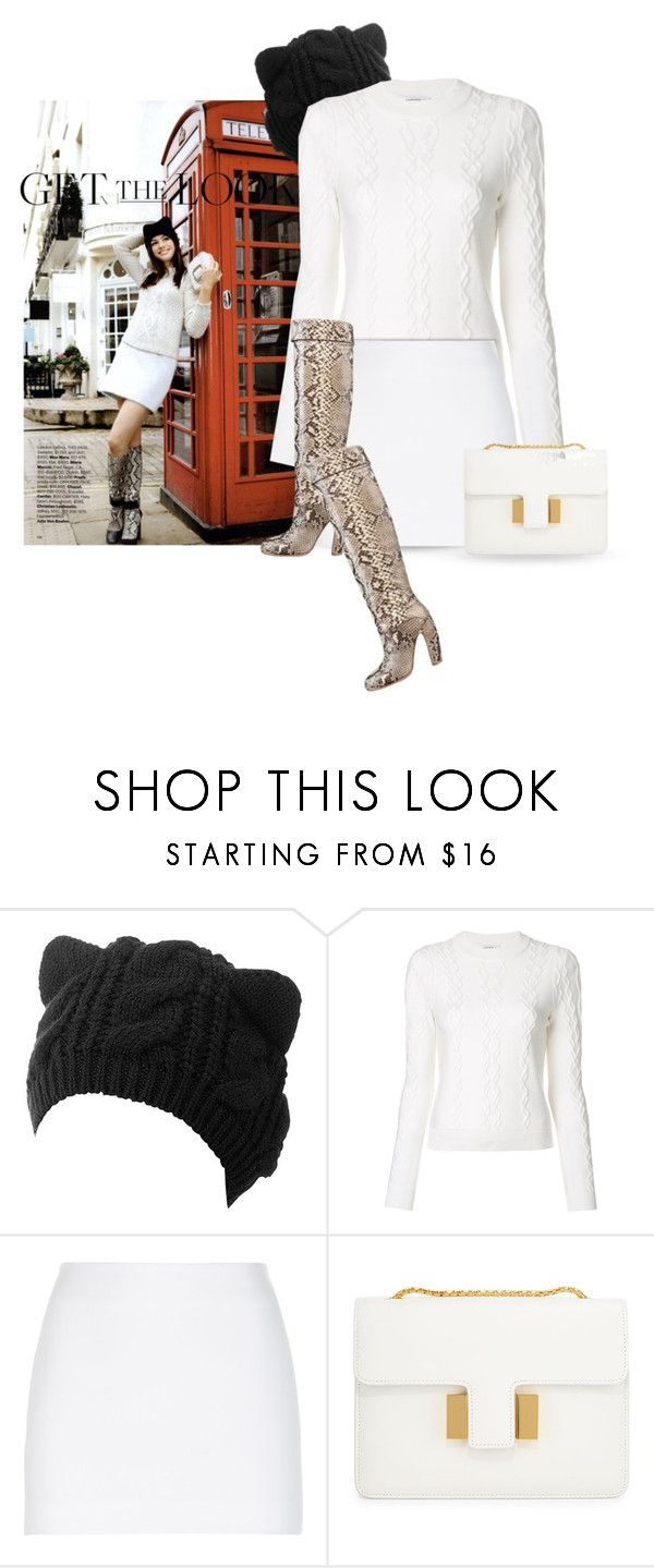 """""""Get the lok"""" by noconfessions ❤ liked on Polyvore featuring Carven, La Perla and Tom Ford"""