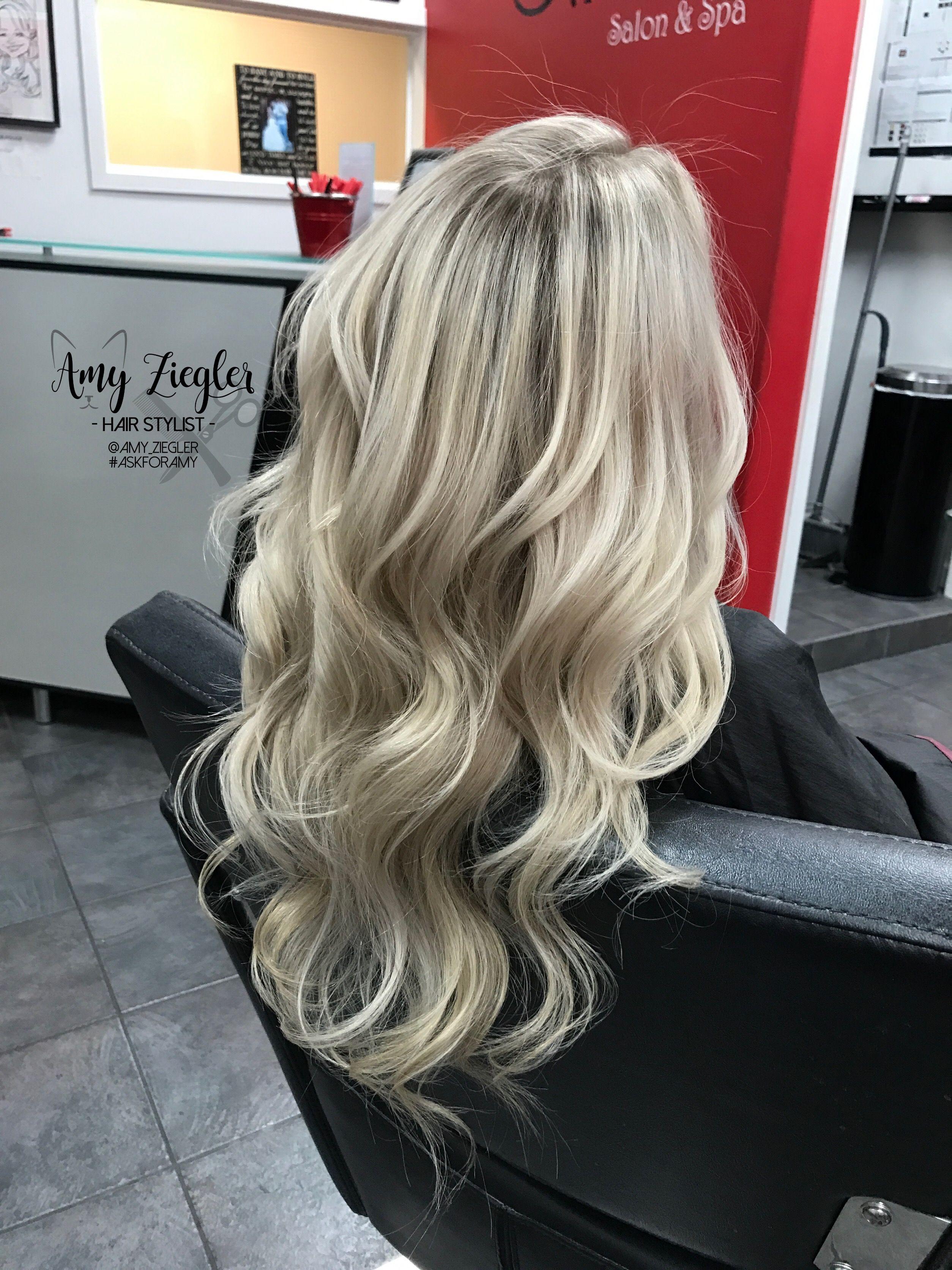Full Head Platinum Blonde Babylights By Amy Ziegler Platinum