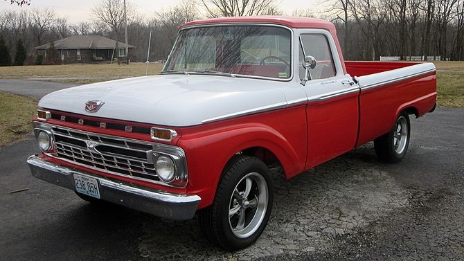 1966 Ford F100 Pickup 429 Ci Frame Off Restoration Mecum Auctions 1966 Ford F100 Ford Trucks Kansas City