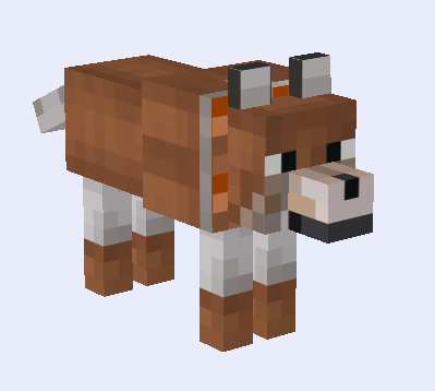 Requests Are Taken Rocky S Mo Wolves Custom Wolf Skins Resource Packs Mapping And Modding Minecraf In 2021 Minecraft Dogs Minecraft Wolf Minecraft Designs