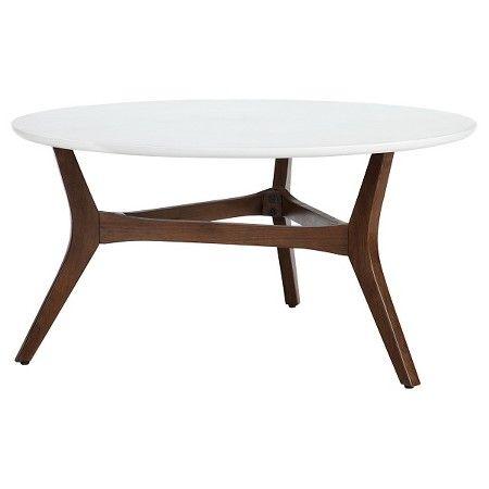 Brilliant Coffee Table Bob Office 134 99 Two Tone Mid Century Inzonedesignstudio Interior Chair Design Inzonedesignstudiocom