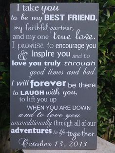 Wedding Vows Examples For Her And Him Http Www