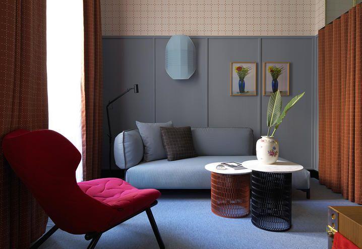 Milan hotel room mate giulia patricia urquiola for Arredamento case di lusso interior design