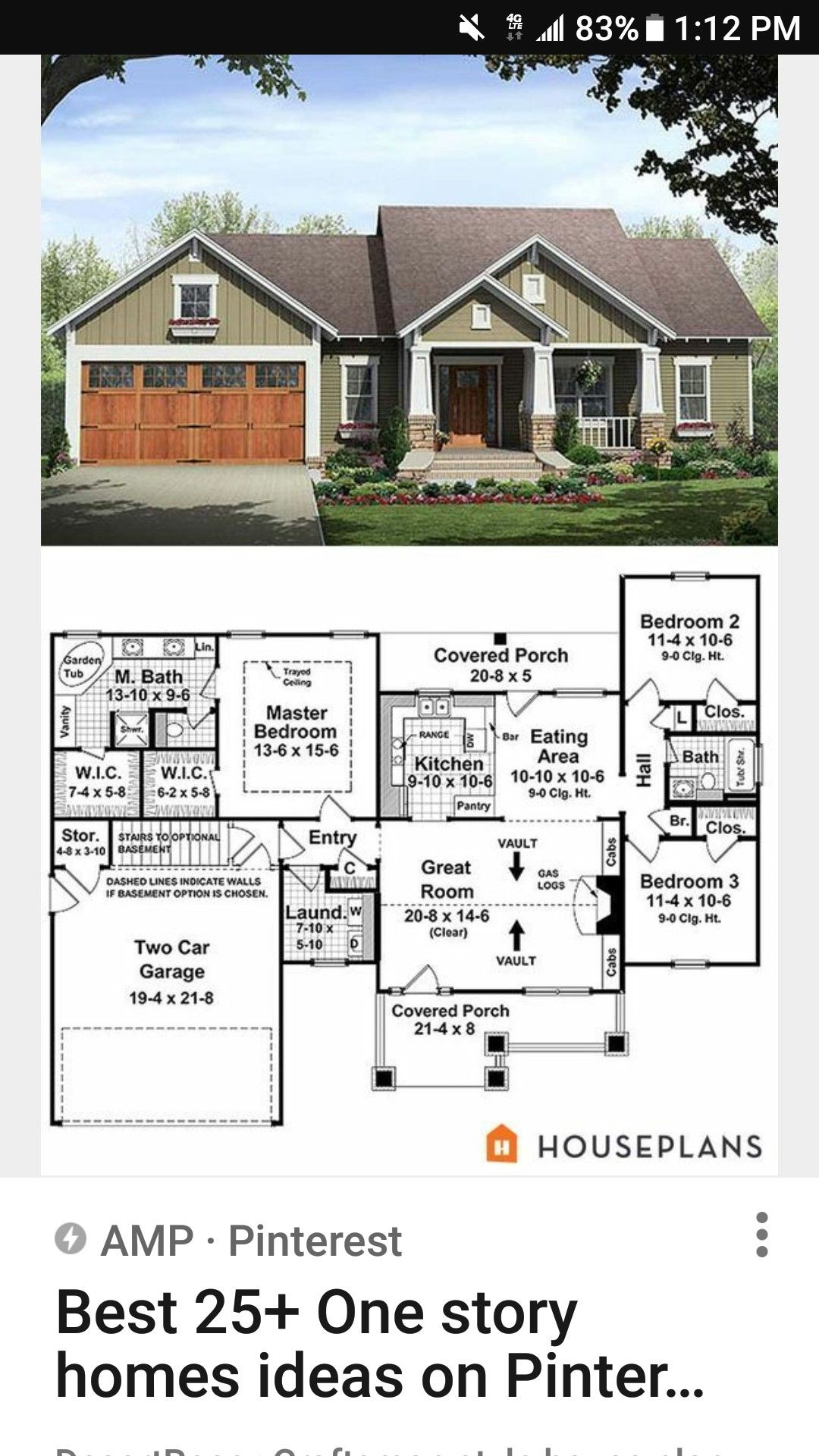 Pin By Thebeachhousekesch On Ranch Elevations Craftsman House Plans Craftsman Style House Plans Bungalow House Plans