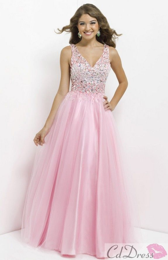 prom dress prom dresses | Pink Prom Dress | Pinterest