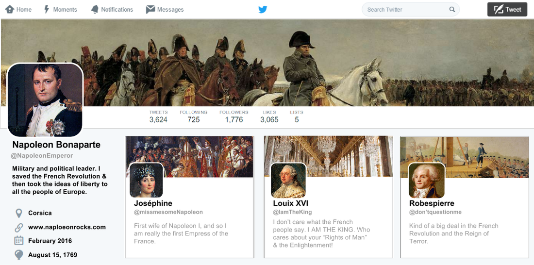 Love This Fake Twitter Template Created With Google Drawing