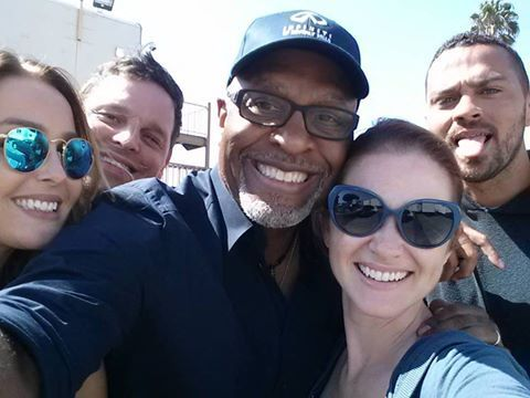 grey\'s anatomy cast selfie | Grey\'s Anatomy | Pinterest