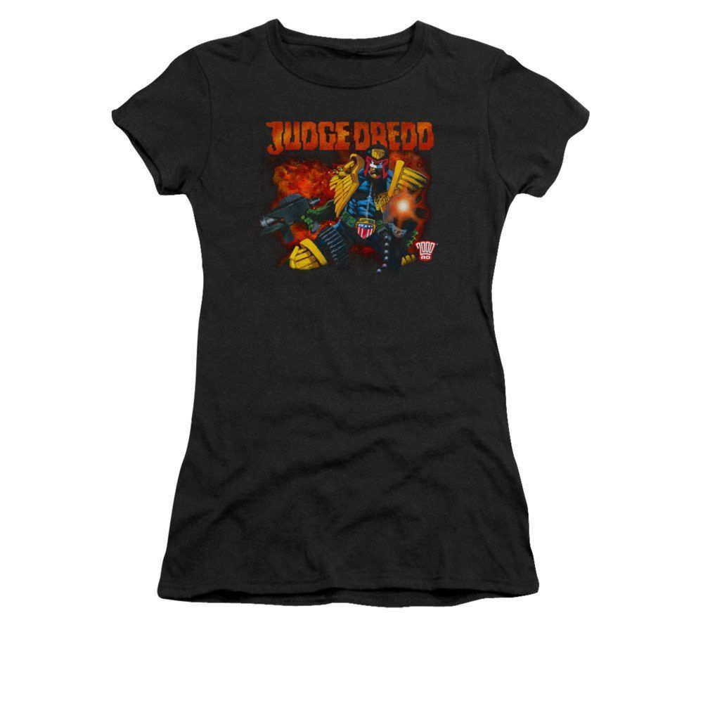 Judge Dredd - Through Fire Junior T-Shirt