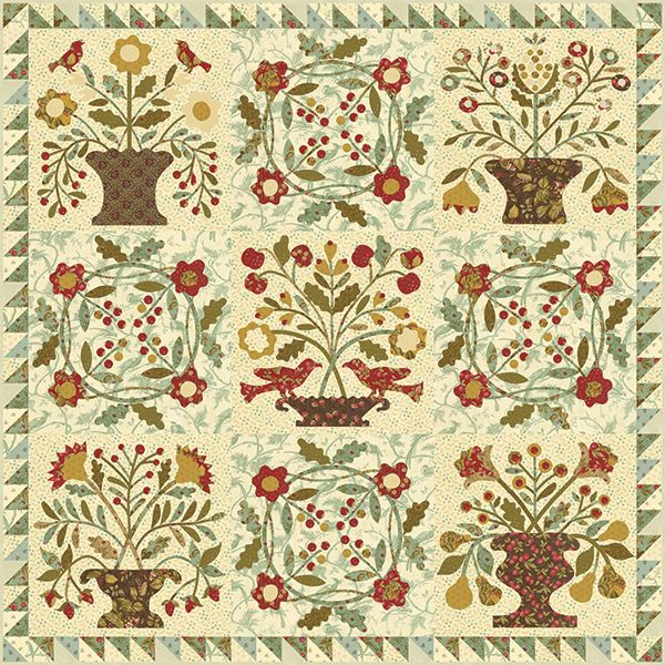 Gathered Harvest Block of the Month | A Bed Without a Quilt is ... : gathered quilt - Adamdwight.com