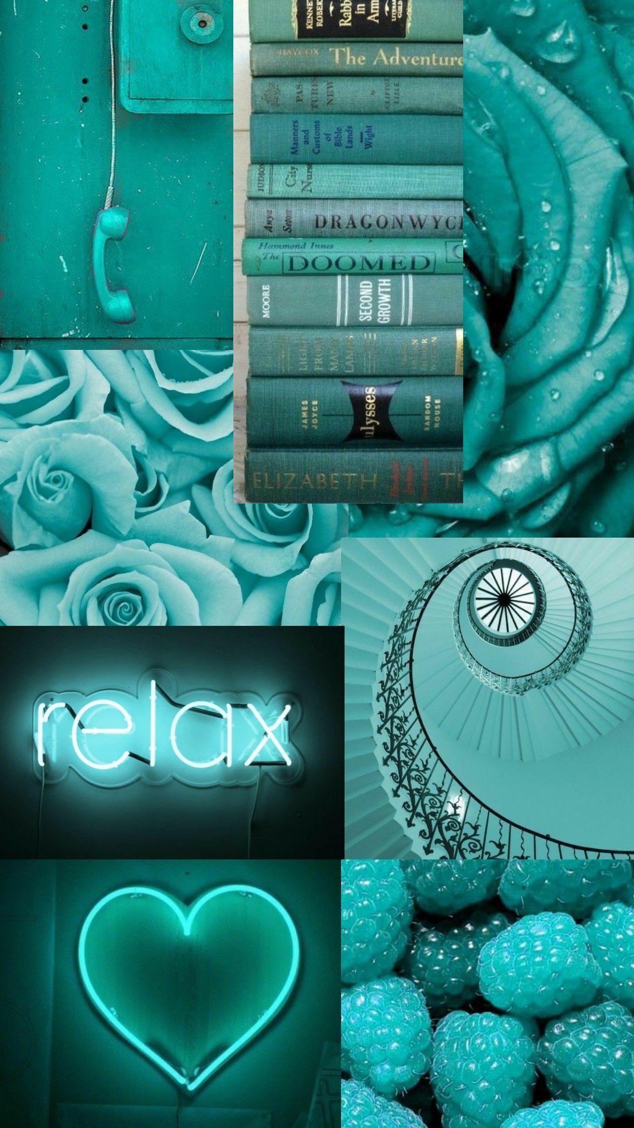 Aquamarine Aesthetic Cute Patterns Wallpaper Teal Wallpaper Cute Blue Wallpaper