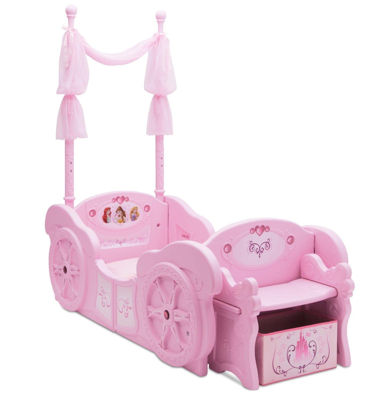 Disney Princess Carriage Convertible Bed Disney Princess