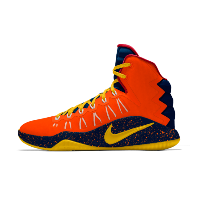 c8116142857c0 GOKU Nike Hyperdunk 2016 iD Men's Basketball Shoe | gHim Shoes ...