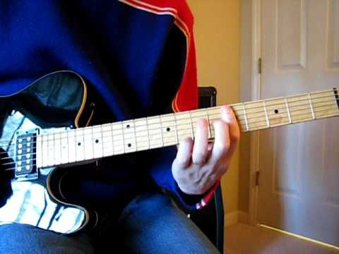 Def leppard pour some sugar on me (guitar tutorial) youtube.