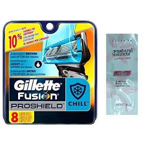 Proshield Mens Razor Blade Refills 8 Count Proshield Chill -- Want to know more, click on the image.Note:It is affiliate link to Amazon.