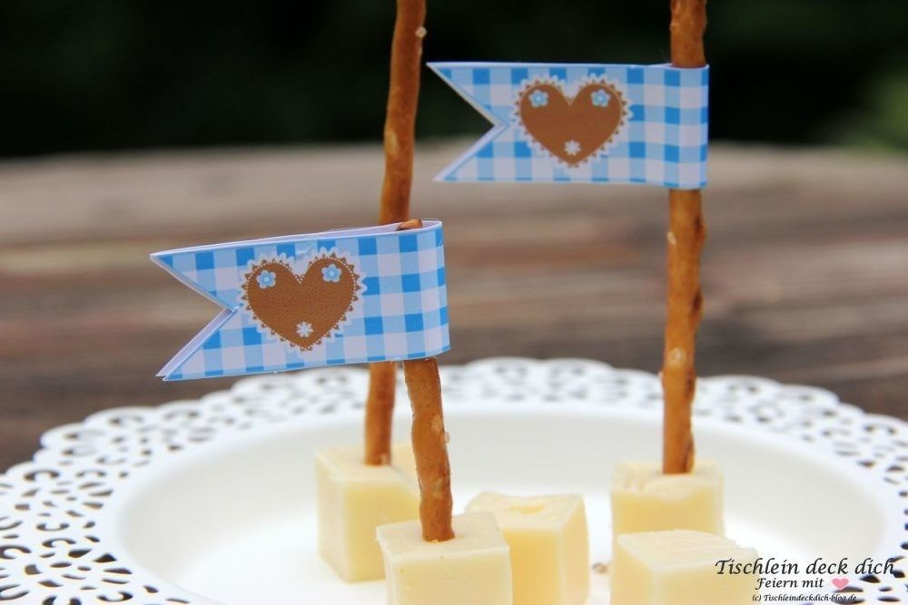 Photo of This is fix No. 12 – ideas for the Oktoberfest with freebie suggestion – table cover yourself
