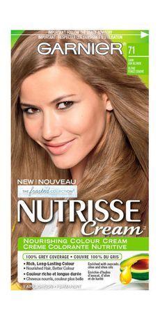 Garnier Nutrisse Cream 71 Dark Ash Blonde Dark Ash Blonde Dark