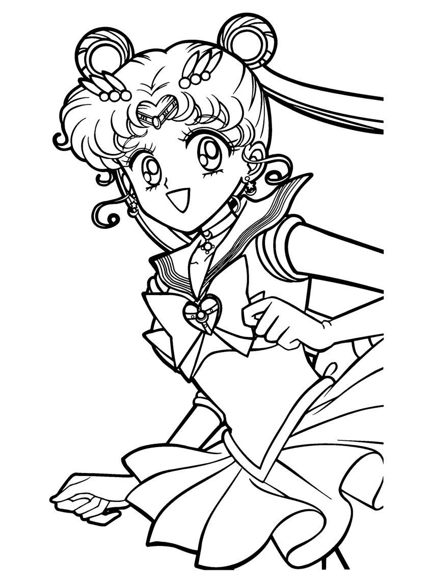 Sailor Moon Coloring Pages Moon Coloring Pages Sailor Moon Coloring Pages Chibi Coloring Pages
