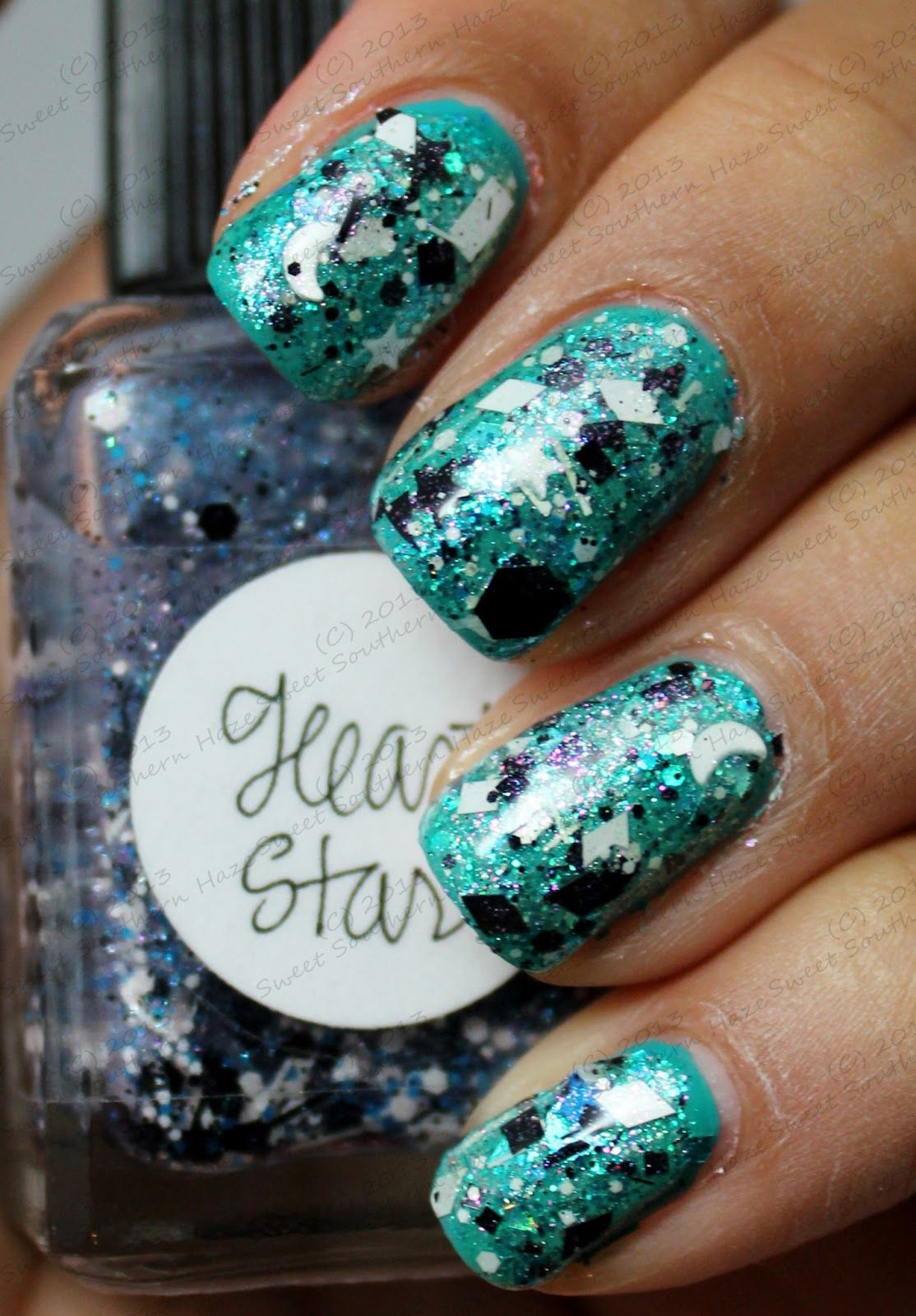 Lynnderella Heart Star, I Don\'t Mean Rhinestones and Spot On over ...