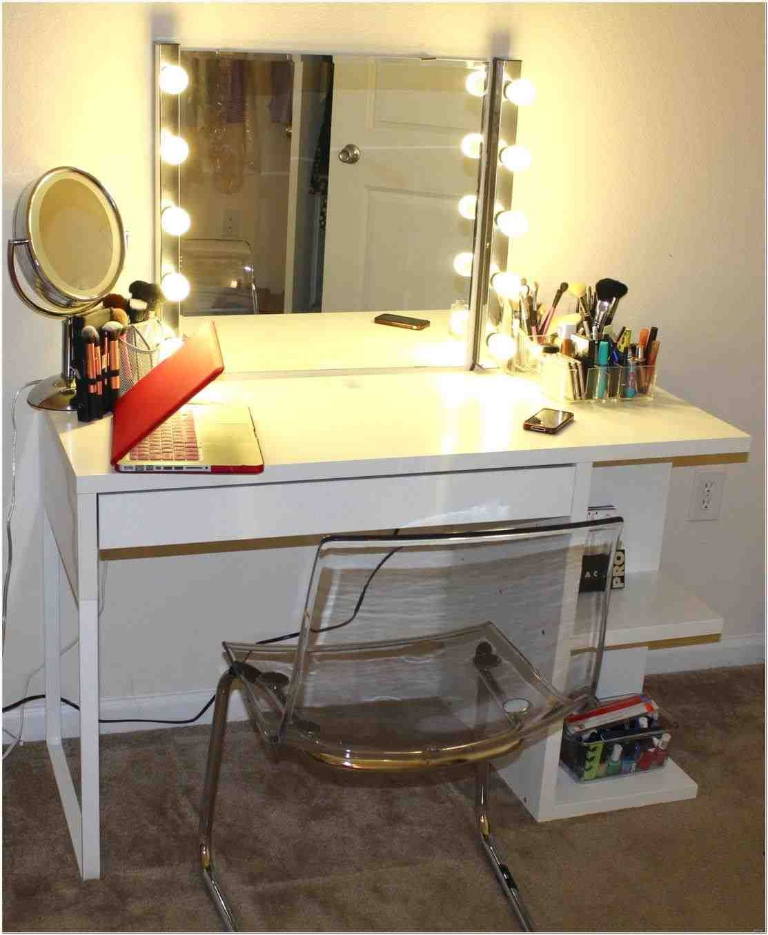 This vanity table tumblr - vanity desk with lights | corner makeup ...