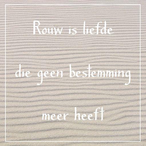 Rouw, liefde & gemis. #salut.nl
