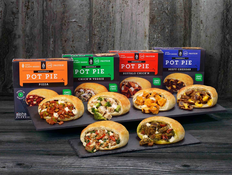 Handheld Pot Pies Alpha Foods Plant Based Convenience Food Pot Pie Convenience Food