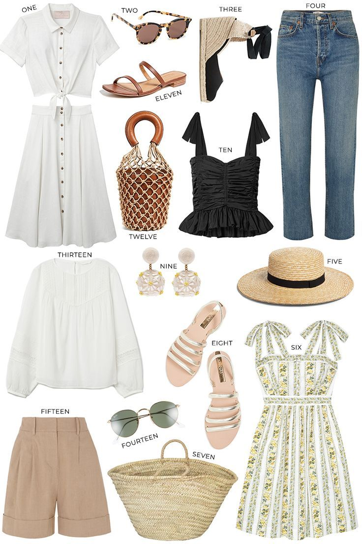 PROVENCE PACKING LIST + OUTFIT INSPIRATION | The Style Scribe